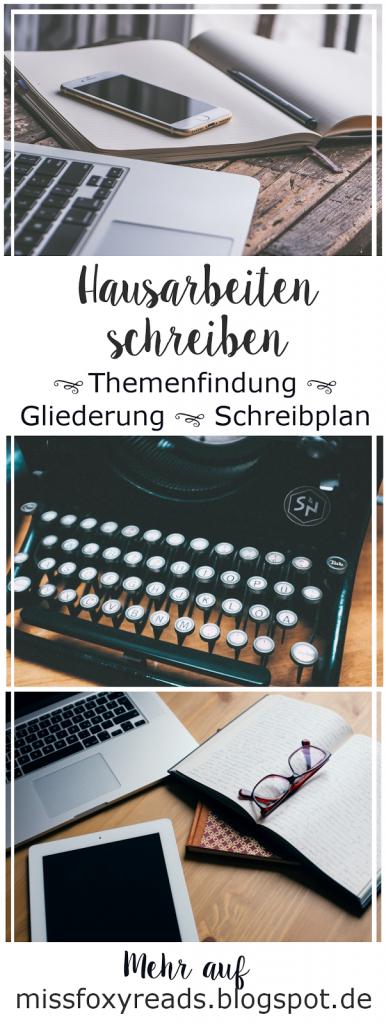 Hausarbeiten Schreiben Themenfindung Gliederung Und Schreibplan